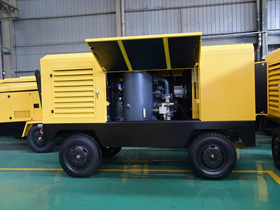 LGY series portable screw air compressor